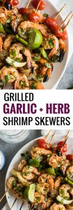 pin for grilled shrimp skewers