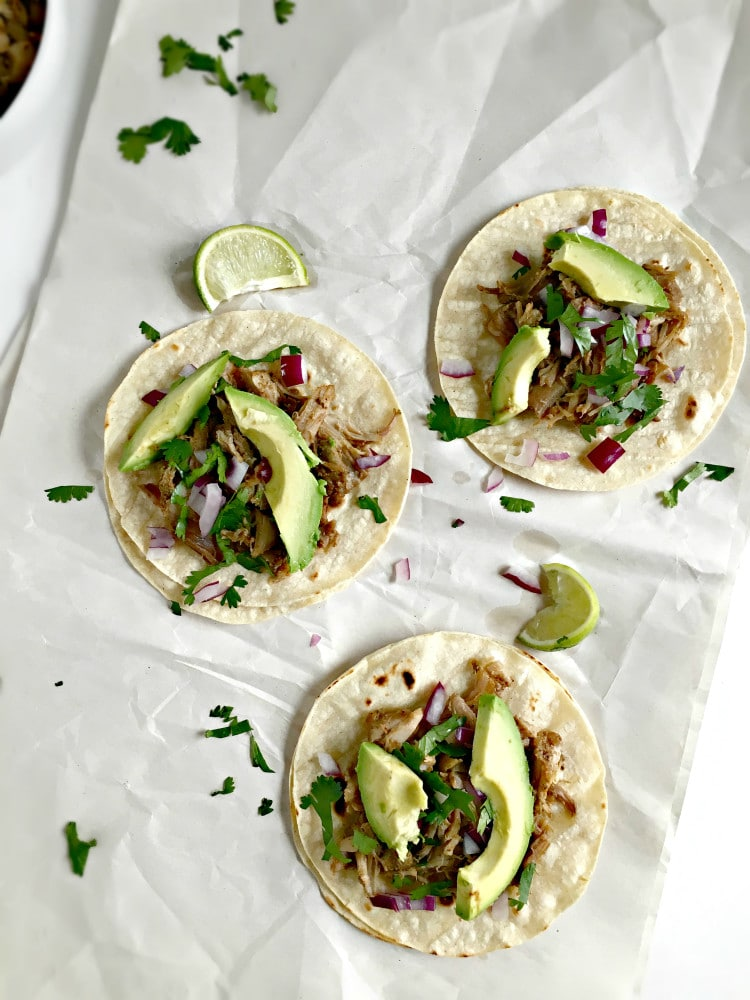 ... Mexican Slow Cooker Pork Carnitas Tacos are the perfect dinner for any