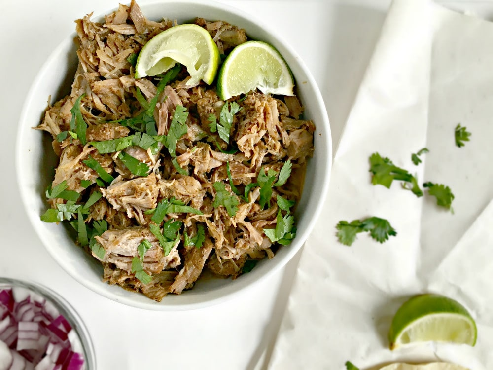 , chili powder, lime juice, these Mexican Slow Cooker Pork Carnitas ...