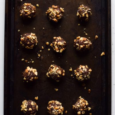 Easy Chocolate Pumpkin Energy Balls