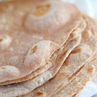 Authentic Mexican Flour Tortillas (White & Whole Wheat Versions)