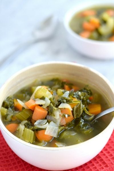 Winter Kale Vegetable Soup