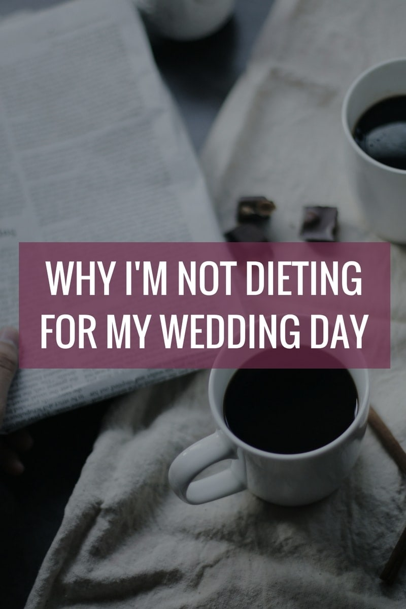 Why I'm Not Dieting for My Wedding Day - We've spent way too much of our lives letting a number on the scale, the size of our jeans and the food on our plates determine our self-worth. Let's shift the focus to loving ourselves as we are right now, to treating ourselves as we would a best friend. (body image, body positivity, intuitive eating, ditch dieting, body love, eating disorders, recovery, happiness) - isabeleats.com