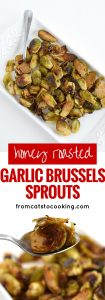 pin for honey balsamic brussels sprouts