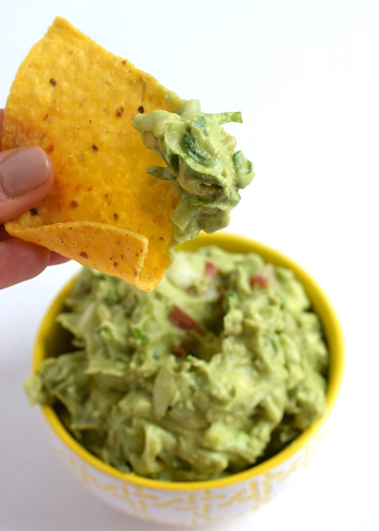 30 Minute Mexican Lime Chicken Fajitas + Easy Guacamole ...