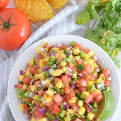 Fresh & Easy Pineapple Salsa