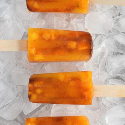 Mango Chili Popsicles