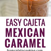 pin for cajeta recipe