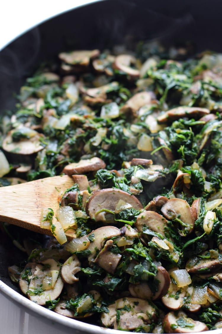 Vegetarian Spinach Enchiladas - Isabel Eats