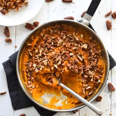 Butternut Squash Sweet Potato Casserole