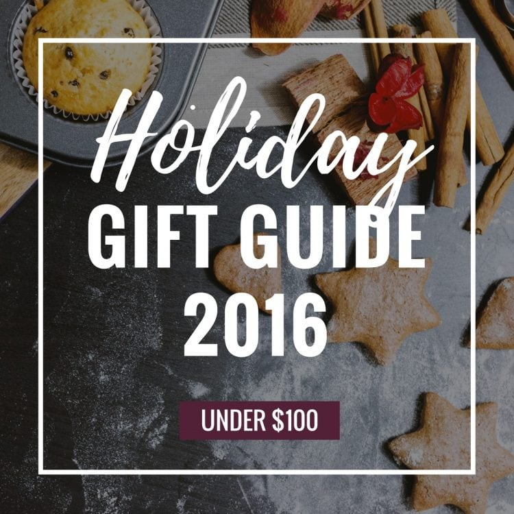 Holiday gift guide under $100! You don't have to break the bank to get someone a good present. For foodies, techies, secret santa and more!