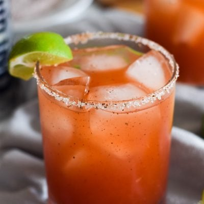 Mexican Michelada (Beer Cocktail)