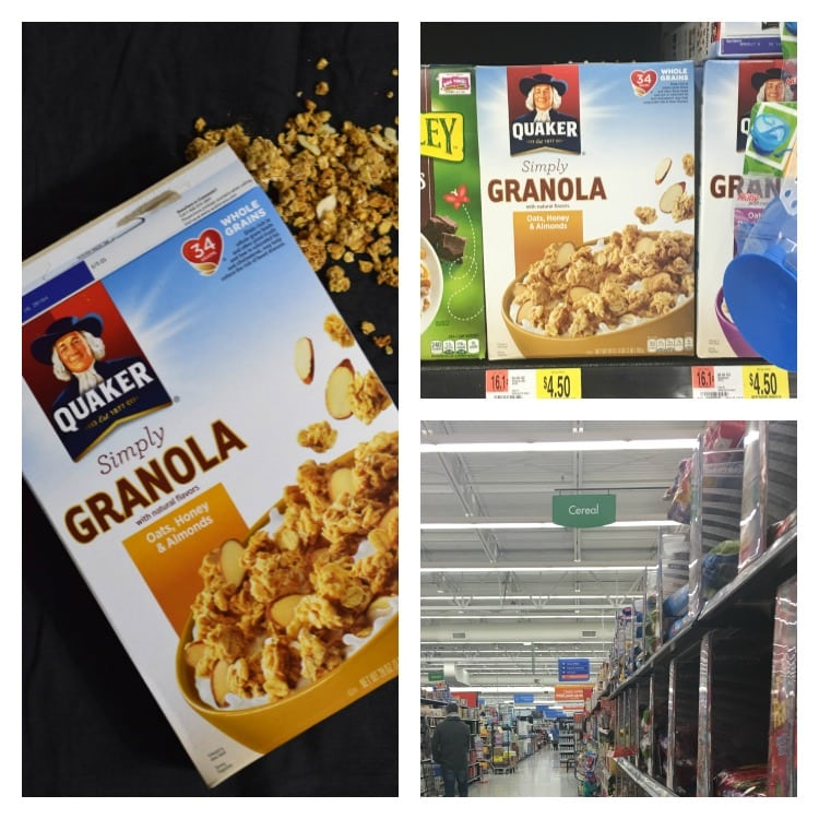 I bought my Quaker® Simply Granola at my local Walmart.