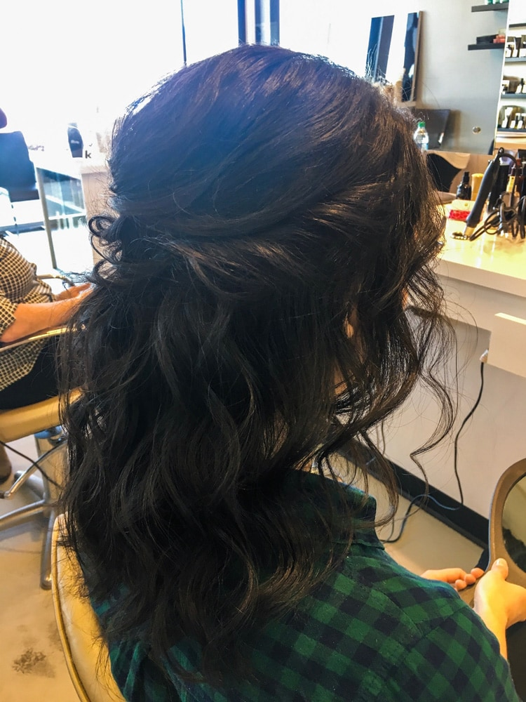Blo. OKC hairstyle by Hayley