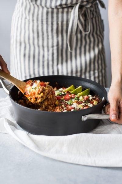 Easy Chicken Tamale Casserole