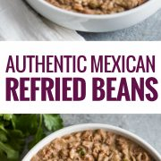 Easy Refried Beans Isabel Eats Easy Mexican Recipes