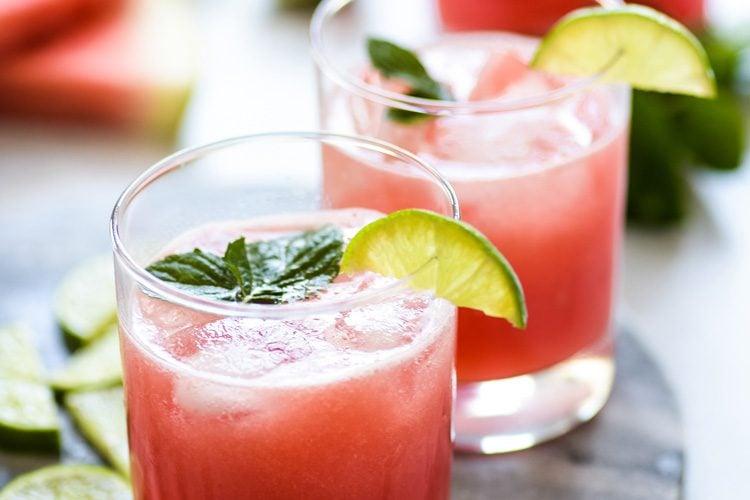 Mexican Watermelon Water (Agua de Sandia)
