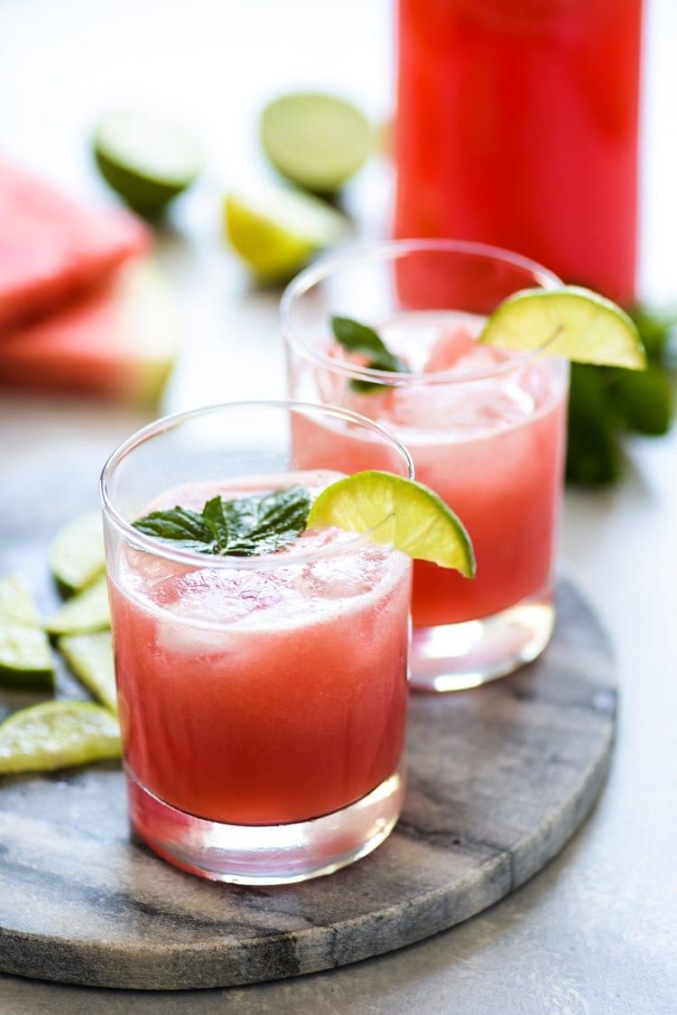 Mexican Watermelon Water Agua De Sandia Isabel Eats