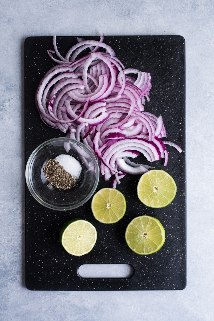 Mexican Easy Homemade Pickled Red Onions