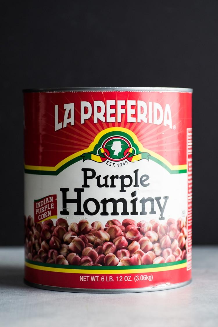 La Preferida Purple Hominy