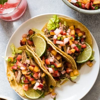 Slow Cooker Pork Rib Tacos