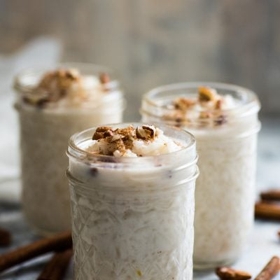 Arroz con Leche (Mexican Rice Pudding)