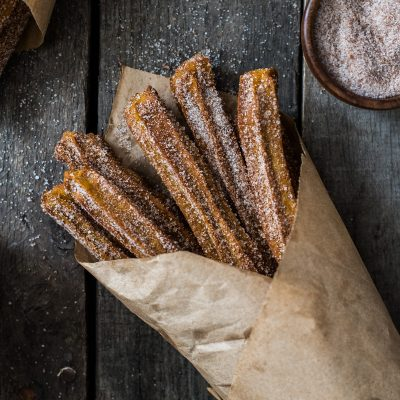 Baked Pumpkin Churros