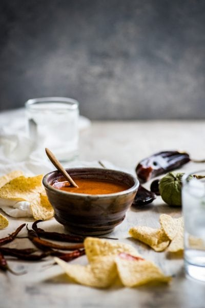 Toasted Red Chile Salsa