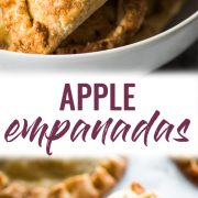 Baked Apple Empanadas are the perfect dessert for the fall and winter seasons! They're portable, delicious and super addicting.