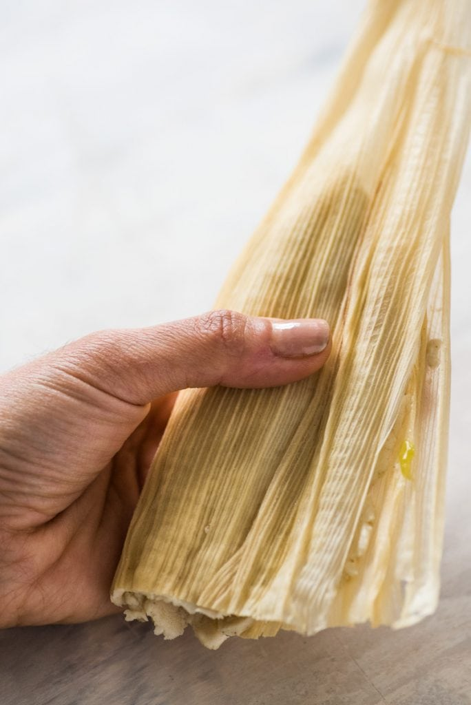 How to close and wrap tamales