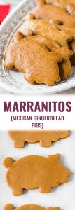 Marranitos (Mexican Gingerbread Pigs)are a pan dulce, or sweet bread, flavored with molasses and commonly found in Mexican bakeries. Best served with a cup of milk or coffee and eaten on weekend mornings!