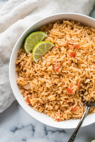 Mom's Authentic Mexican Rice Recipe
