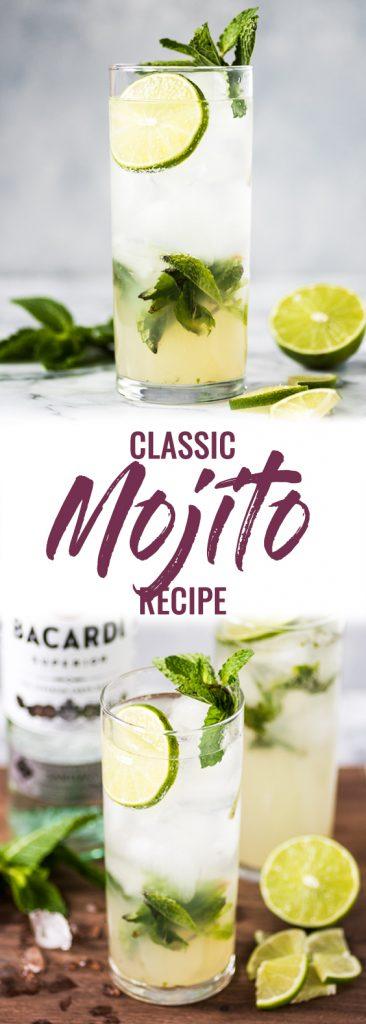 pin for classic mojito recipe