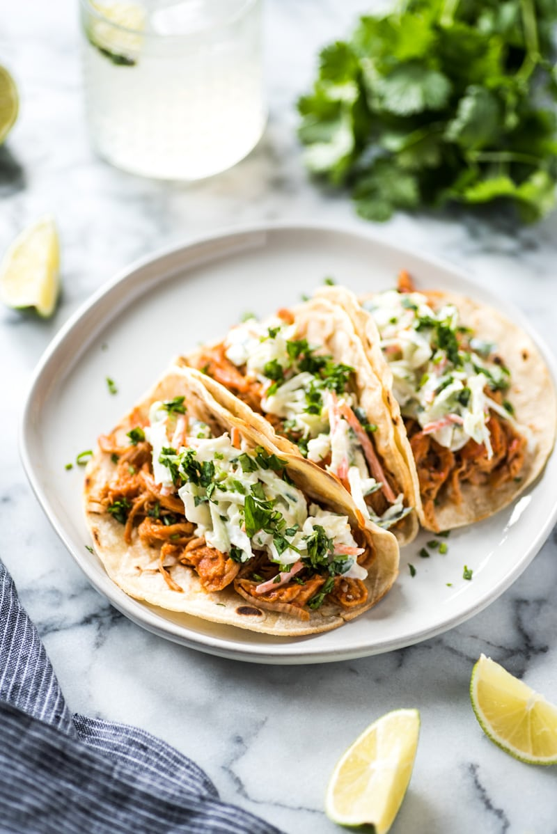 How to make tacos with leftover pulled pork