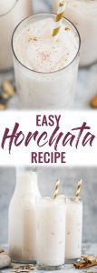easy horchata pin
