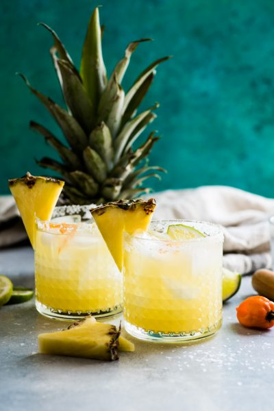 Spicy Habanero Pineapple Margarita