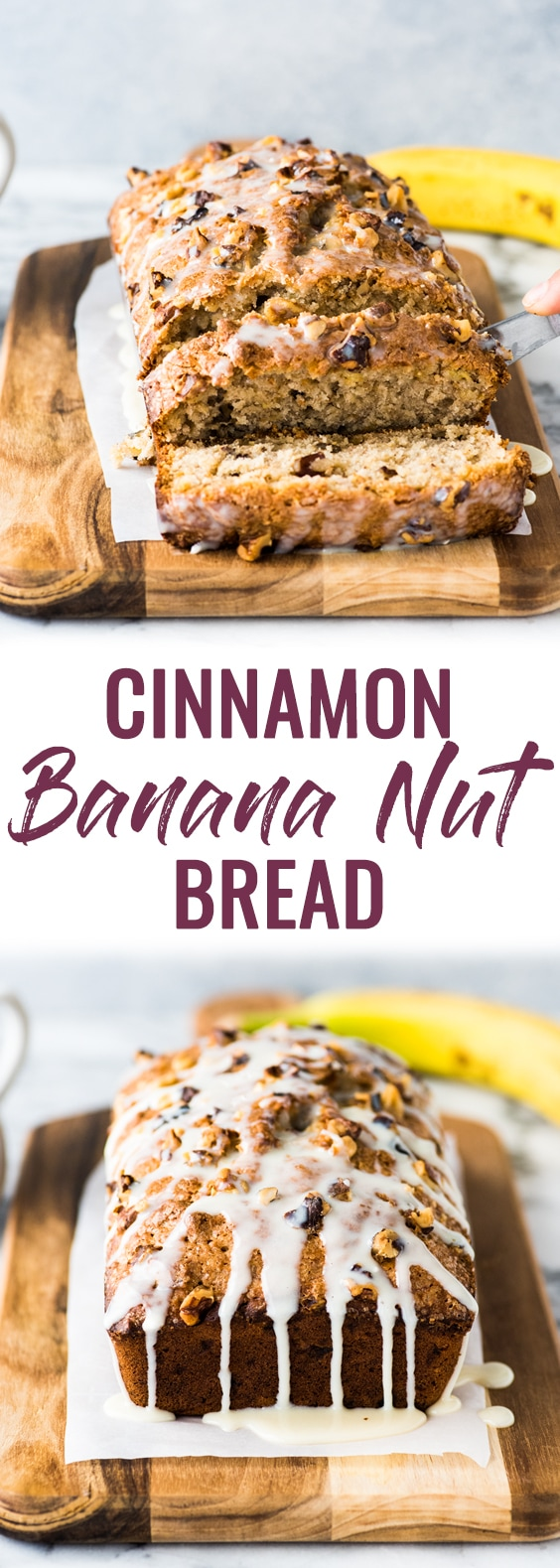Cinnamon Banana Nut Bread - Isabel Eats Easy Mexican Recipes