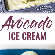 No ice cream maker? No problem! This no churn Avocado Ice Cream is creamy, rich and smooth. All you need is a mixer! (gluten free, vegetarian)