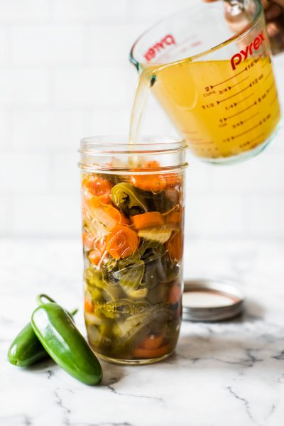 Mexican Pickled Jalapenos