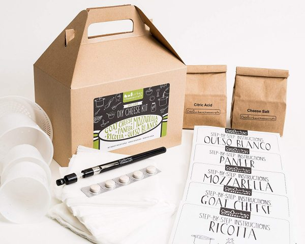 DIY Cheese Making Kit