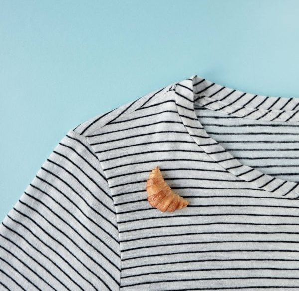 Croissant Pin and Brooch