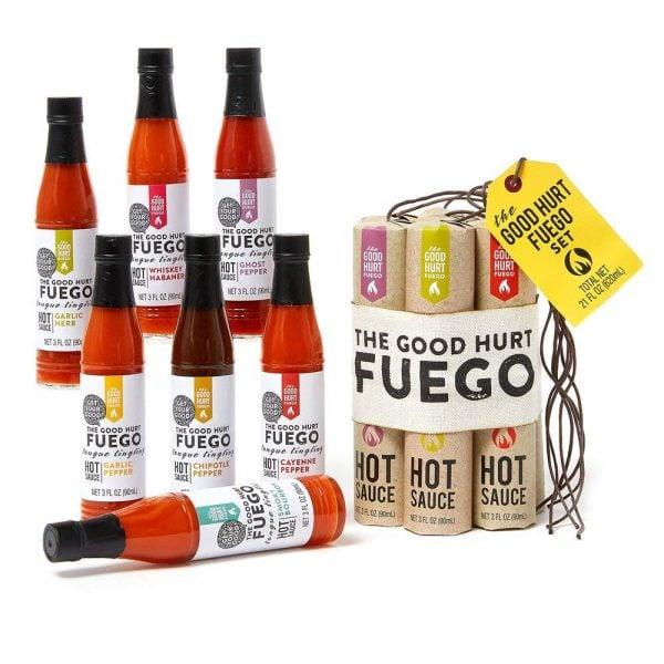 The Good Hurt Fuego Hot Sauce Sampler