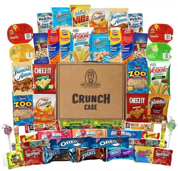 Mr. Snackbox Crunch Case - Snack care package