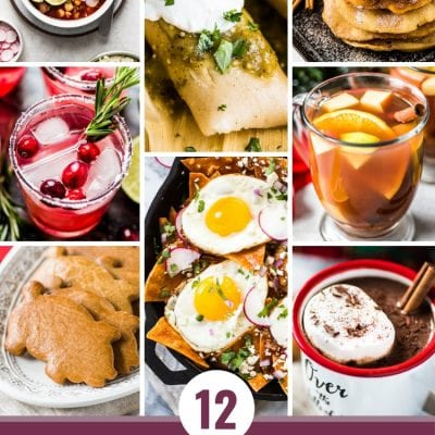 Looking to spice up your holiday menu? These 12 Mexican Christmas food recipes are perfect for celebrating Las Posadas, Noche Buena and Navidad!