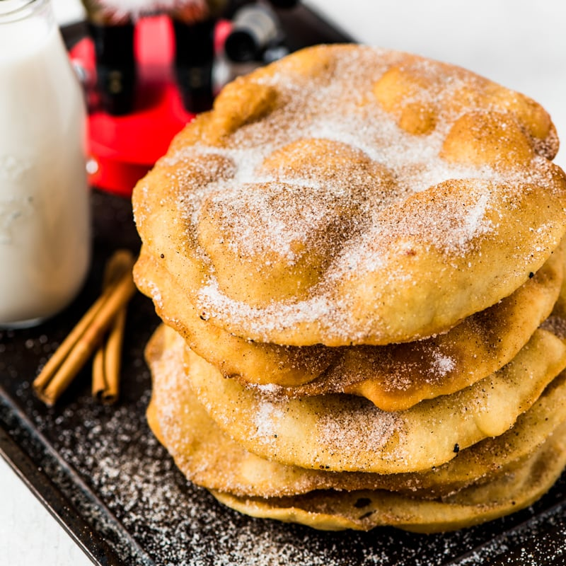 Mexican Bunuelos - Looking to spice up your holiday menu? These 12 Mexican Christmas food recipes are perfect for celebrating Las Posadas, Noche Buena and Navidad!