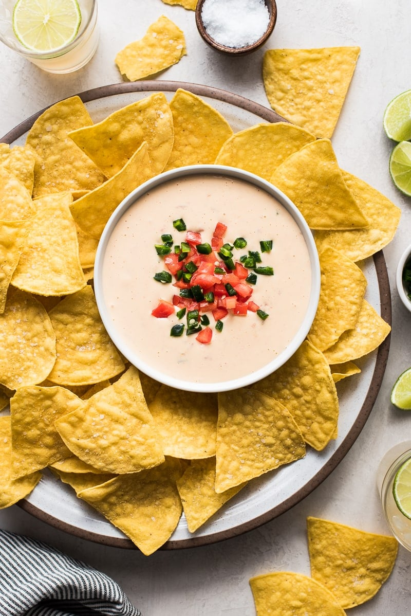 Easy Mexican Queso Dip Isabel Eats Easy Mexican Recipes