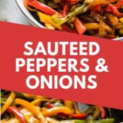 Sauteed Peppers and Onions