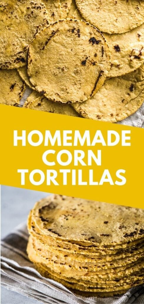 Everything you need to know about how to make corn tortillas at home! What you need, step-by-step process from start to finish and how to keep them warm. They're easy to make and perfect for taco night!