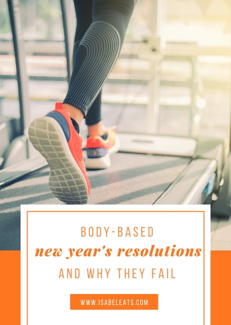 Body-Based New Year's Resolutions and Why They Fail