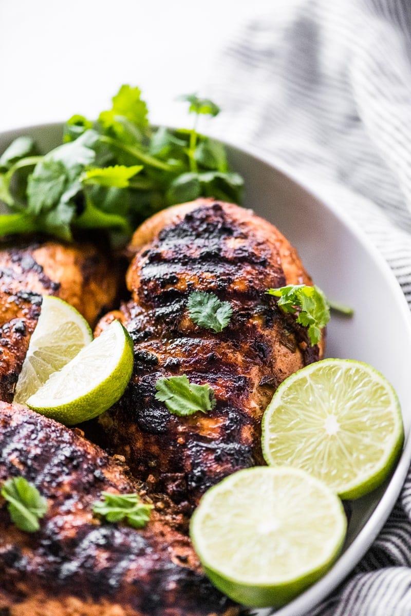 Mexican chicken marinade grilled chicken